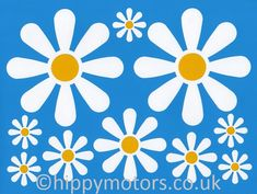GT Graphics Cute Lady Bug and Flower Vinyl Sticker Waterproof Decal