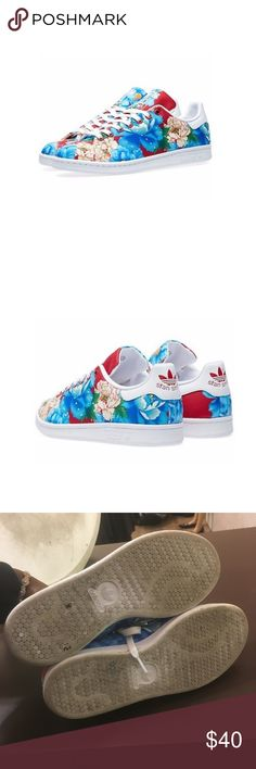 Adidas Original x Woman's Stan Smith Adidas Original x Woman's Stan Smith. Floral Print adidas Shoes Sneakers
