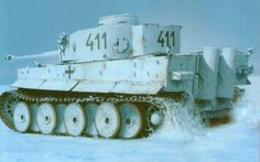 Tiger at eastern front