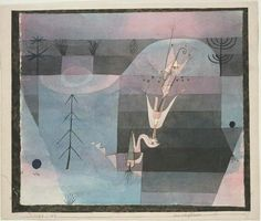 Mauerblümchen von Paul Klee (1879-1940, Switzerland)
