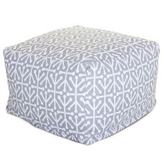 Majestic Home Goods Aruba Ottoman, Large, Gray ** Awesome product. Click the image (This is an amazon affiliate link. I may earn commission from it)