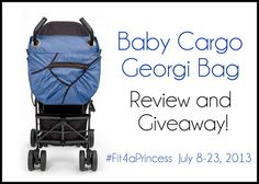 Win it: One lucky person will win a Baby Cargo Georgi Bag in Ocean/Wave or Chile/Tangerine!  Open to the US only.  Ends 7/23/13 at 11:59 PM EST.   Good Luck!