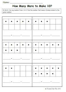 KinderKids Fun: Common Core Math (W/ Assessment) missing addend Teaching First Grade, 1st Grade Math, Teaching Math, Grade 1, Teaching Ideas, Math Classroom, Kindergarten Math, Classroom Ideas, Math Stations