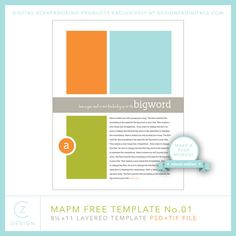 Make a Page Monday | Classic Edition + A Free Template for you by cathy z