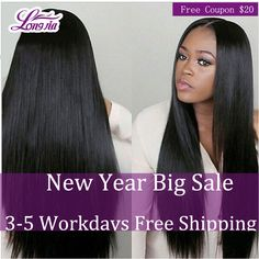 8A Peerless Peruvian Virgin Hair Straight 4 Bundle Deals Peruvian Straight Virgin Hair 100% Unprocessed Human Hair Extensions 1B ** Details on product can be viewed by clicking the image
