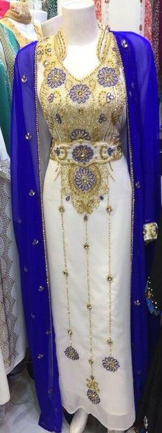 Wedding Kaftan Farasha Jalabiya Khaleeji Party Dubai Morrocan India Abaya Burka · $45.00 Khaleeji Abaya, Arabic Dress, Muslim Fashion, Bodycon Dress, Sari, Fashion Outfits, Kaftan, Dubai, Stuff To Buy