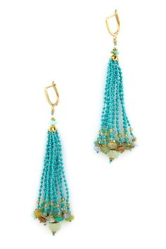 Peruvian Opal Earrings; only 1,090.00!