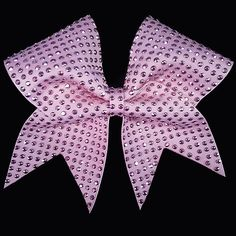 Charmed Pink Cheer Bow