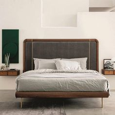 95 comfortable and relaxing bedroom decor 60 Bed Design, Headboards For Beds, Bed Furniture, Italian Bed, Small Bedroom, Relaxing Bedroom, Relaxing Bedroom Decor, Bedroom Furniture Sets, Simple Room