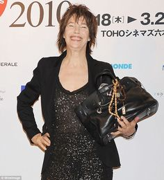 Crisis avertes: Actress and singer Jane Birkin, who can be seen posing with her own Birkin...