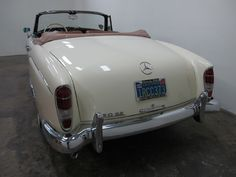 Used 1960 Mercedes-Benz Cabriolet Stock # 02336 in Los Angeles, CA at Beverly Hills Car Club, CA's premier pre-owned luxury car dealership. Come test drive a Mercedes-Benz today! Beverly Hills Cars, Mercedes 500, Luxury Car Dealership, Classic Mercedes, Fancy Cars, New Tricks, Vintage Cars, Convertible, Classic Cars