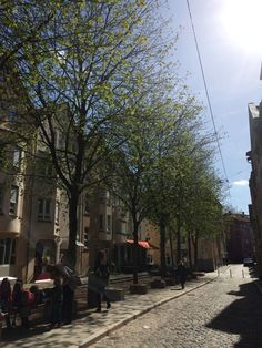 My hood: one of the streets in the beautiful Bohnenviertel