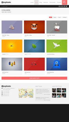 #wordpress #theme #website #template #responsive #design #webdesign #flat #flatdesign