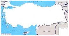 Dilsiz Türkiye Haritası Resmi