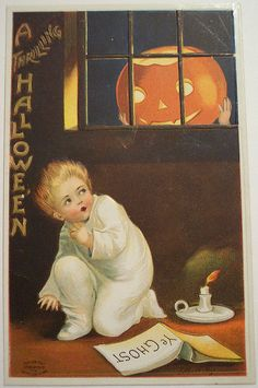vintage halloween postcards | Vintage Halloween Postcard | Flickr - Photo Sharing!