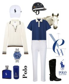 """""""Polo"""" by weirnixie ❤ liked on Polyvore featuring Natural Curiosities, Polo Ralph Lauren, Uniqlo, Frame Denim, Marc O'Polo, LA MARTINA, Ralph Lauren, Frye, Rolex and men's fashion"""