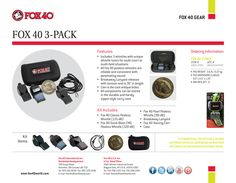Fox 40 3-Pack #Fox40Gear http://www.fox40shop.com/s.nl/sc.7/category.25138/.f