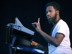 Cory Henry - keyboard genius - plays with Snarky Puppy and his own band The Funk Apostles.