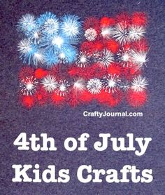 4th of July Kids Crafts by Crafty Journal