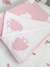 Blanket - Little Apple cot size Jacob and Bonomi-baby, linen, blanket, designer, kids, jacob and bonomi, gift, present, decor,