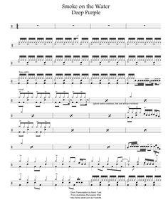 tablaturas para bateria Drum Sheet Music, Drums Sheet, Drum Lessons, Music Lessons, Partition Batterie, Drummer Quotes, Drum Rudiments, Drum Notes, Drum Parts