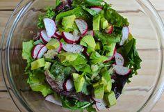 Refreshing Spicy Radish Avocado Salad   Habits for the Soul ♥ #habitsforthesoul #salad #refreshing #healthy