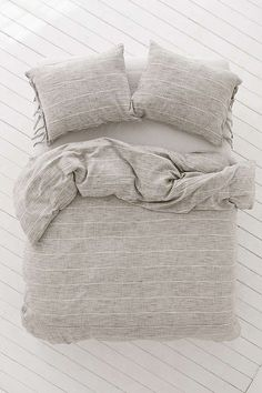 Nikko Marled Tie Duvet Cover | Urban Outfitters