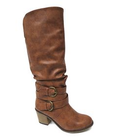 This Tan Hubert Boot by Bonnibel is perfect! #zulilyfinds