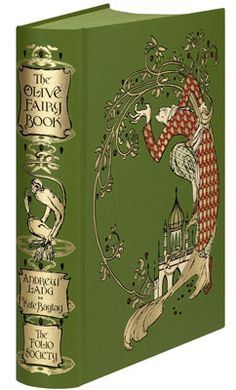 One of two newest additions to the Folio Rainbow Fairytales series, The Olive Fairy Book.