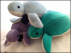 Handmade Terrence the Dapper Sea Turtle Plush Hes Smart, Hes sharp and Extra Cuddly! Terrence Comes in several available colors and Comes with a cute