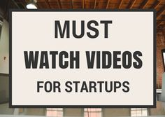 Here is the must watch videos for startups and entrepreneurs after watching many days of videos. This set of startup videos will be inspirational. Inspirational Videos, Start Up Business, Watch Video, Startups, Entrepreneur, Motivational, Watches, Collection, Wristwatches