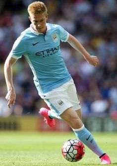 Kevin De Bruyne makes his MCFC debut at Crystal Palace 12/09/2015