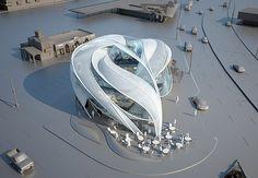 Repin @Designbuzz https://www.homify.jp Sci-Fi Architecture by B+U Architects