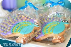 Great Cookies! Peacock / Birthday Peacock Princess | Catch My Party