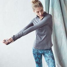 Mix up your gym routine with printed leggings.