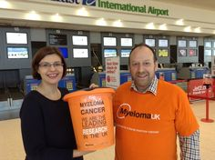 Myeloma UK is the most recent recipient of our monthly Drop Off Zone charity donation. #airport #blog #BIA #belfast