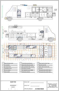 Food Inspiration Food Truck Plans Fashioviral Net - Food Rings Ideas Inspirations Discover Food Truck Plans Discovred By Angelo Errera Muller Food Truck Menu, Food Truck For Sale, Trucks For Sale, Used Food Trucks, Mobile Food Trucks, Food Truck Business, Food Cart Design, Food Truck Design, Coffee Carts