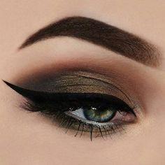 Cat Makeup, Makeup Art, Makeup Tips, Makeup Ideas, Brown Eyeshadow, Jeffree Star, Costume Makeup, Gorgeous Makeup, Makeup Looks