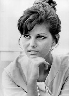 Claudia Cardinale in Cannes photographed by Edward Quinn, 1961