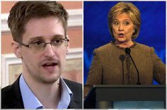 BREAKING: This Is Epic! Edward Snowden Just Stepped Out Of The Shadows And Destroyed Hillary!