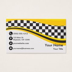 Taxi Wave Business Card