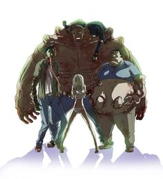 Left 4 Dead Special infected Zombie Smoker, Witch, Boomer, Hunter and Tank