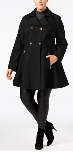 01c73672b4d 18 Plus Size Coats - Plus Size Fashion for Women - alexawebb.com   coatsforwomenplussize