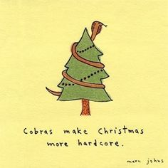 Merry Christmas! Here's a post-it note drawing I did ages ago. I hope you have a terrific holiday season! . #merrychristmas #xmas #throwback #marcjohns #marcjohnsart #postit