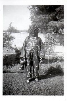 creepy vintage halloween photos - Satan