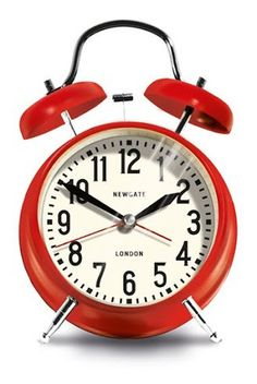 Medium London Alarm Clock- Red design by Newgate