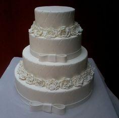 bolo de casamento 3 andares vermelho - Pesquisa Google