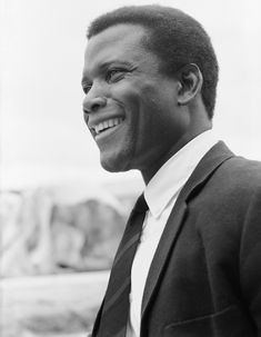 Sidney Poitier, great actor and a beautiful smile.