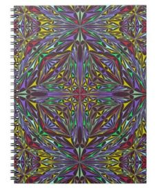 Kaleidoscope triangles notebooks $14.35