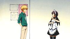 Kaichou wa Maid Sama - Takumi and Misaki - I love how Takumi dodges her kick so calmly xD